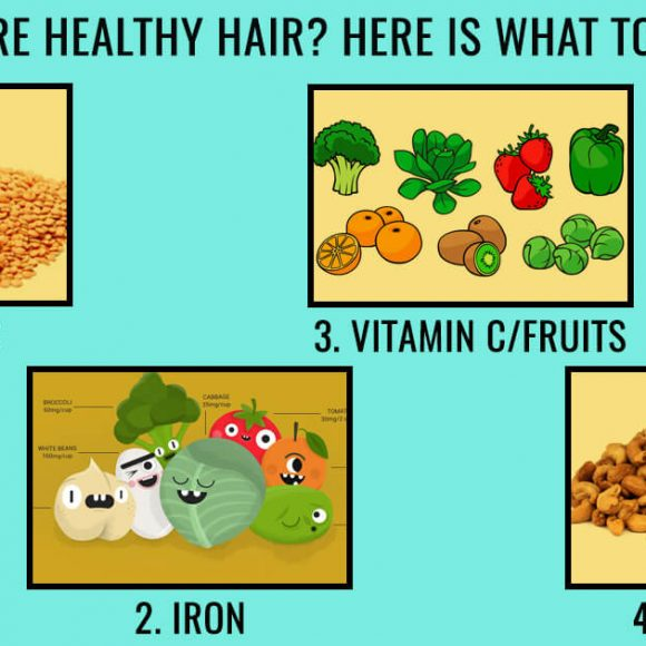 Desire Healthy Hair? Here is what to eat!