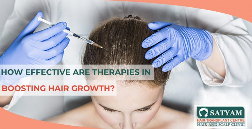 How Effective Are Therapies In Boosting Hair Growth?