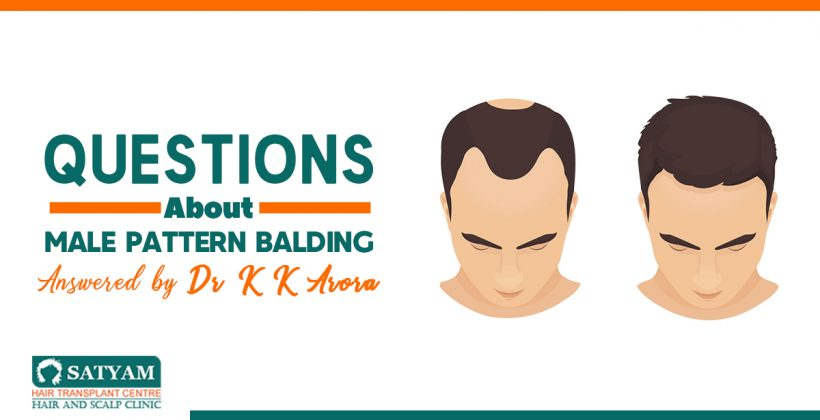 Questions About Male Pattern Balding Answered by Dr K K Arora