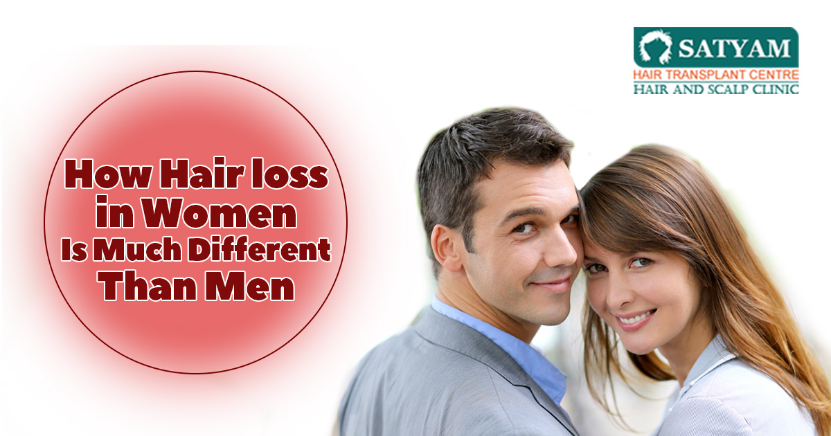 How Hair Loss In Women Is Much Different Than Men