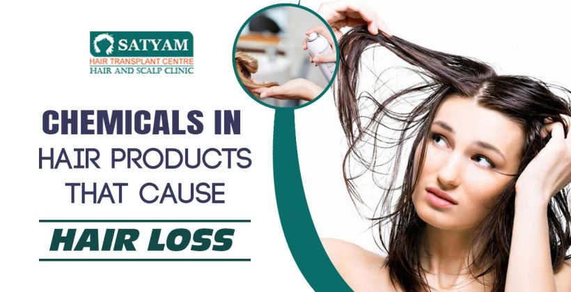 Chemicals in Hair products that cause hair loss
